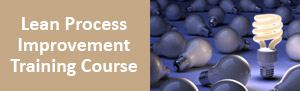 Lean Process Improvement Training Course Los Angeles, Manhattan from pdtraining