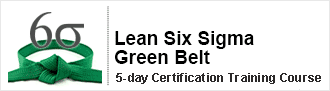 Lean Six Sigma Green Belt Certification Training Course from pdtraining in Manhattan, Atlanta