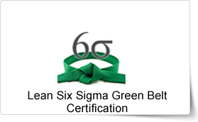 Lean Six Sigma Green Belt Certification Training In